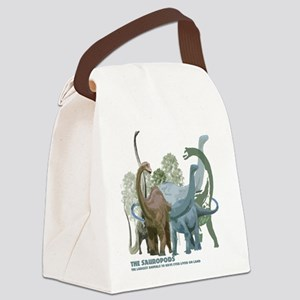 The Sauropods Canvas Lunch Bag